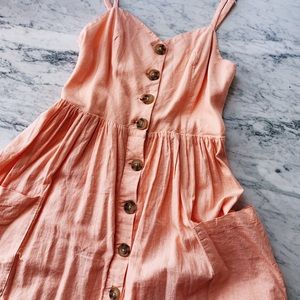 Urban Outfitters pink summer dress S